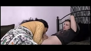 sexy indian baby leyla with her boyfriend sucking dick