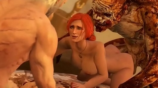 FapZone // Triss Merigold (The Witcher 3)