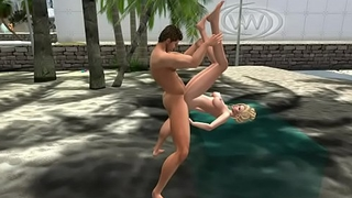 Anal Sex in SL - http://slurl.com/secondlife/Virtual Artworks/86/220/36/