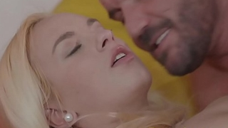 DaneJones Shaved pussy blonde gets hot fuck and cum