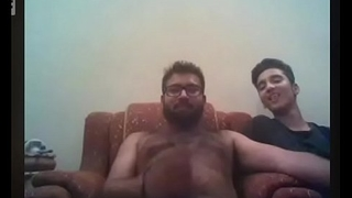indian friends jerking off on webcam