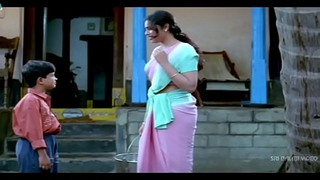 Meena Scenes Back far Back - Telugu Movie Scenes - Sri Balaji Video