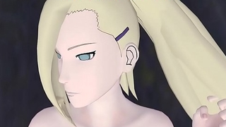 Ino Yamanaka Sex with a Monster