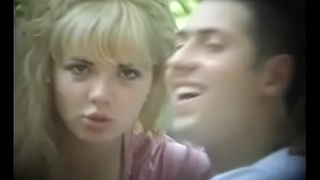 Bulgarian Plovdiv Sexy Ultra Blonde In Deep Love With Boyfriend Fooling Kissing on Bench A Sexy Prize for Any Man To Own - Part 1 of 2