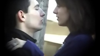 Bulgarian Sexy &amp_ Hot Brunette from Plovdiv Ride Boyfriends Cock on Bench Kissing Licking &amp_ Fondling - Lucky Future Husband Who Will Own Such Dynamite - Part 1